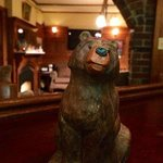 Our Black Bear Pub and Martini Bar, just right!