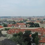 The view from Prague Castle.