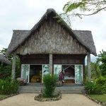 Notre bungalow de l'extérieur
