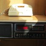 Radio qui ne fonctionne pas. Pas étonnant vu son grand âge