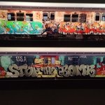 """from the """"City as Canvas"""" graffiti art exhibit"""