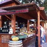 Fruit, veg and great wine at the top of the road