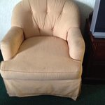 1970's stained chair!