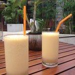 Smoothie papaye
