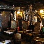 The cosy interior