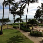Hotel Grounds looking towards the Pacific Ocean