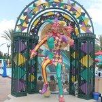 Mardi Gras Statue