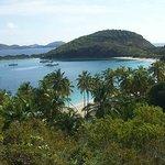honeymoon beach, peter island, bvi, isole vergini britanniche