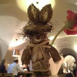 part of Easter table decoration