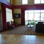 Attractive lobby