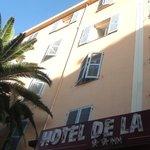la facade de l'Hôtel