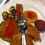 Antipasto: il piatto delle verdure miste