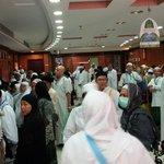 Crowded lobby.....