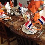La tavola al King's day