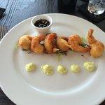 Tempura shrimps starter
