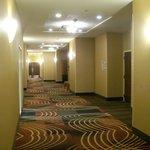 Interior Corridors to Rooms