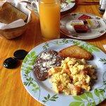 Petit déjeuner mexicain préparé par Daniel