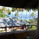 View to the BARAONDA Restaurant and Beach
