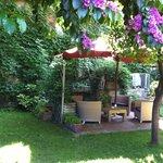 Jardin privatif de la chambre master garden