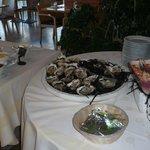 Buffet huîtres