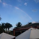 Rainbow over Hemingways