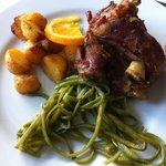 Roasted goatling - Easter treat