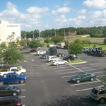View from room 311, Parking Lot