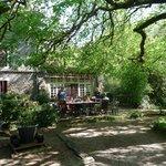 Le Vieux Moulin de la Maque terrace