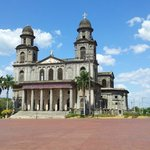 Managua's Old Cathedral, destroyed by the 1972 earthquake