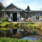Super king Pond room Garden