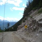 The Road to Bella Coola...we survived. I had my eyes closed most of the time.