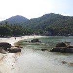 Het kleine maar heerlijke strandje