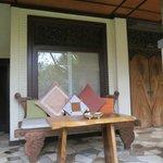 Terrace in front of Alamanda Room