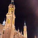 Basílica y La Seo al fondo