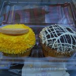 Lemon Shortbread and Boston Cream Pie Cupcakes