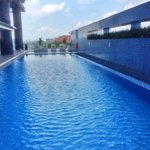 Swimming pool on the 6th floor