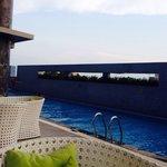 Swimming pool on 6th floor