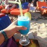 A Blue Hawiian