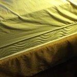 exposed mattress