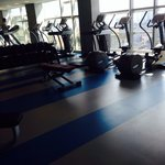 Fitness centre on 6th floor