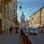 Пантелеи́моновская цeрковь, ул. Пестеля