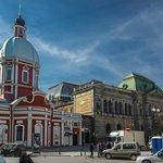Пантелеи́моновская цeрковь, Соляной переулок.