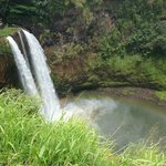 Wailua Falls with Rainbow:)
