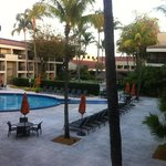 Vista do Quarto Nº 2234 para a piscina