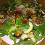 simple salad - so fresh and enough for 2