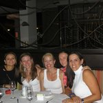 Fun dinner with girlfriends at Andiamo La