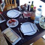 Desayuno casa domenec