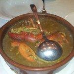 Caldereta de Llamàntol/ Arroz caldoso de bogavante / Juicy Rice with Lobster