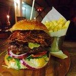 Captain Jack's burger