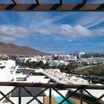 Piękny widok z okna hotelowego 2
